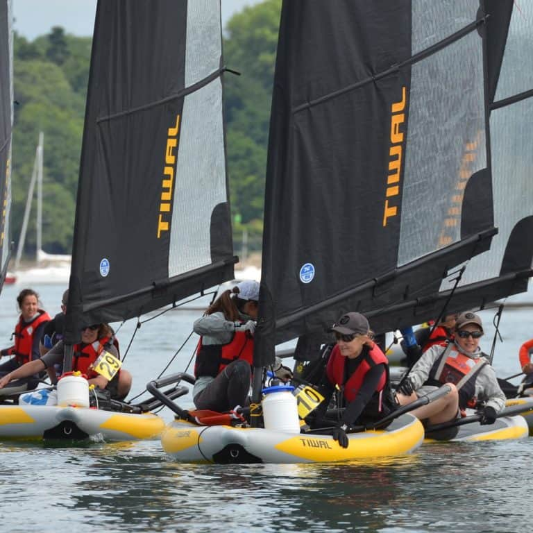 Tiwal Cup 2017 took plance in the Gulf of Morbihan