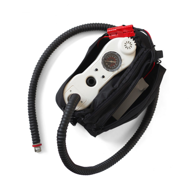 High pressure electric pump for inflatable boat