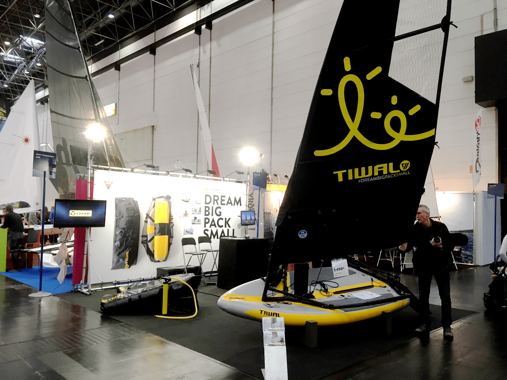 Tiwal exhibited at the Boot Düsseldorf