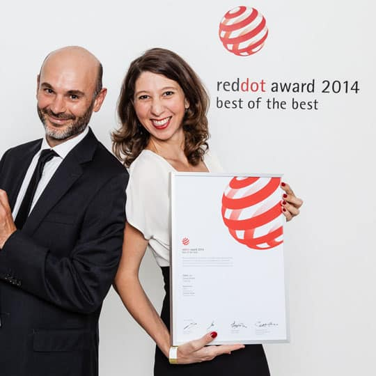 Red dot Award 2014 Tiwal 3