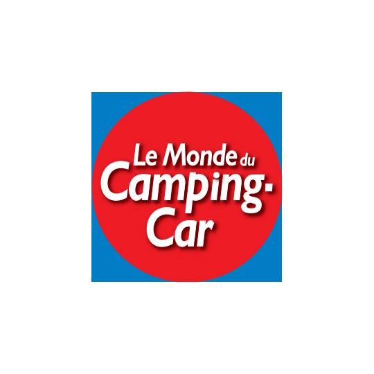 logo le monde du camping car