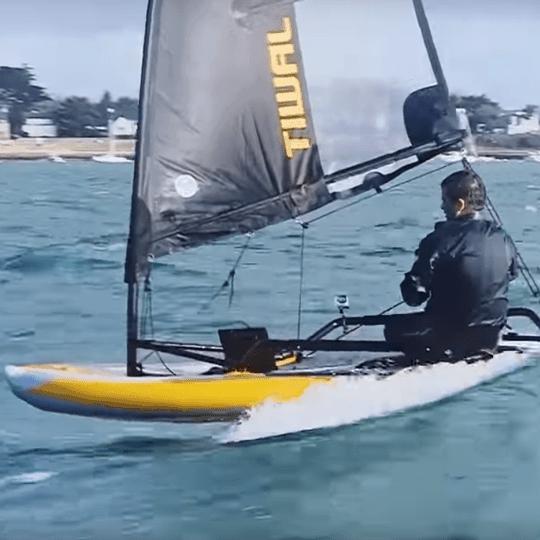 Tiwal speed surf video