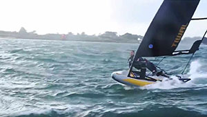 Sporty Sailing with Tiwal 3 Sailboat