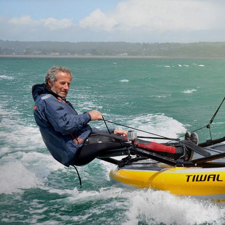 Michel Desjoyeaux teste Tiwal 3