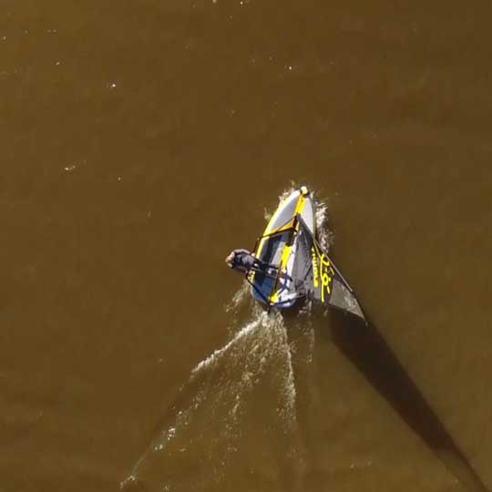 Tiwal inflatable sailing dinghy namibia