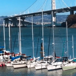 Edward Sails his Tiwal in San Francisco