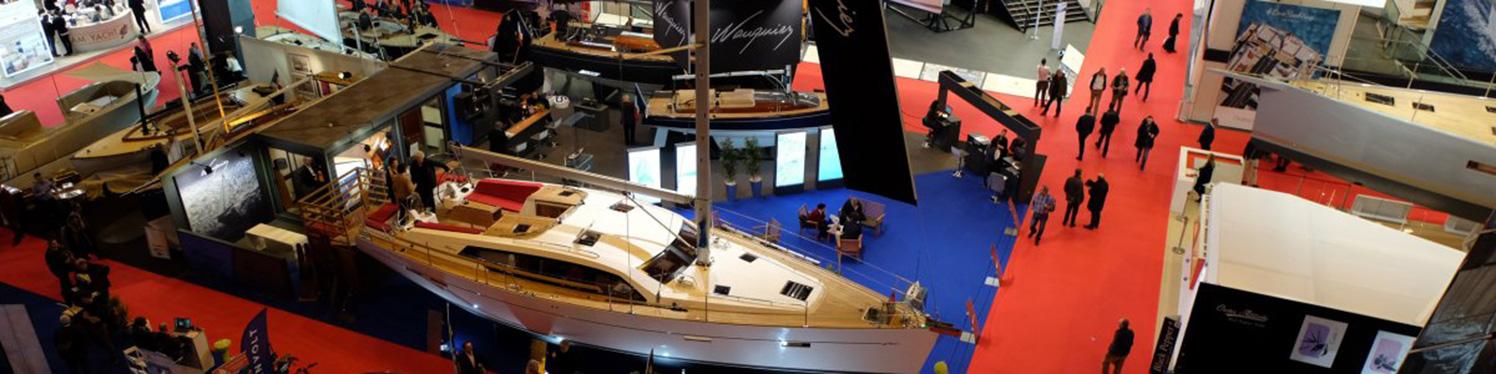 Nautic boat show Paris
