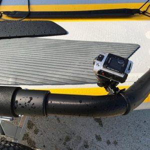 Camera Gopro sur dériveur gonflable Tiwal 3