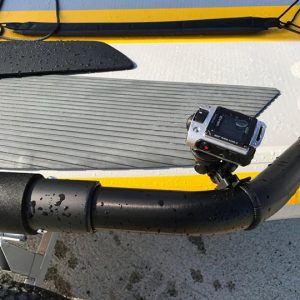 Camera gopro on Tiwal 3 sailboat
