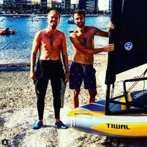 Tiwal 3 sailors in Malta
