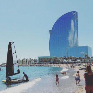 Tiwal 3 prêt à naviguer en Espagne, Barcelone