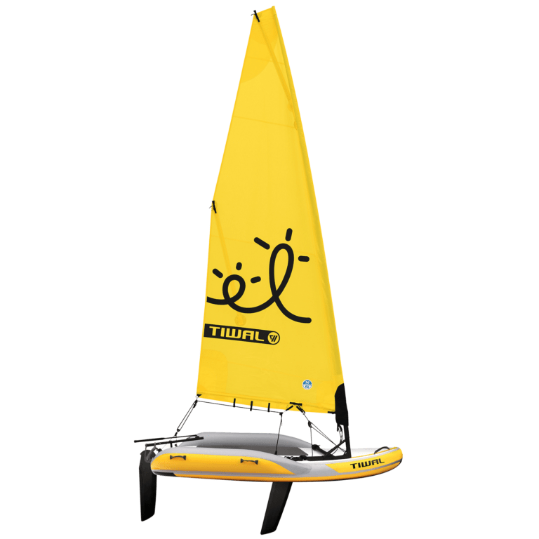 Tiwal 2 Inflatable Small Sailboat
