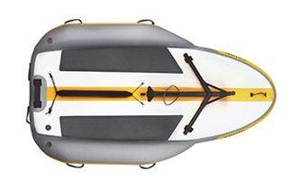 Coque du voilier gonflable Tiwal 2