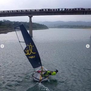Tiwal 3 sport sailing in Taiwan