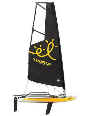 Tiwal 3 inflatable sailing dinghy boat