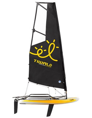 Tiwal 3 inflatable sailboat