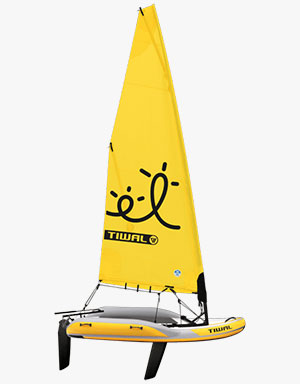 Inflatable Small Sailboat Tiwal 2