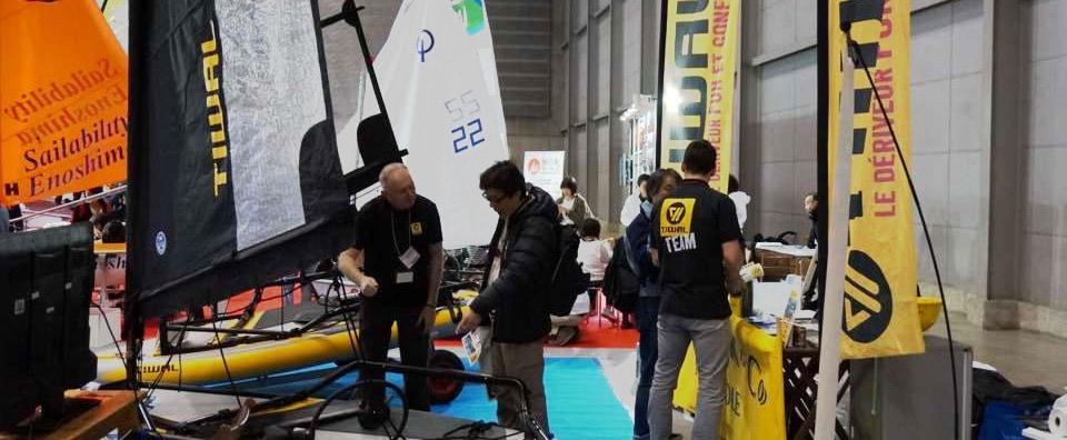 Tiwal 3 at the Japan International Boat Show
