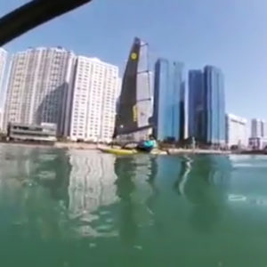 Tiwal 3 sailing in South Korea