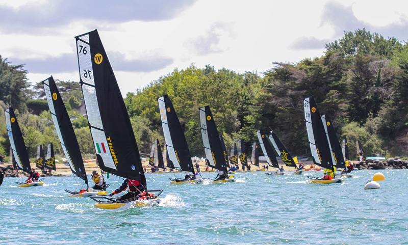 Perfect sailing conditions for the Tiwal Cup 2019
