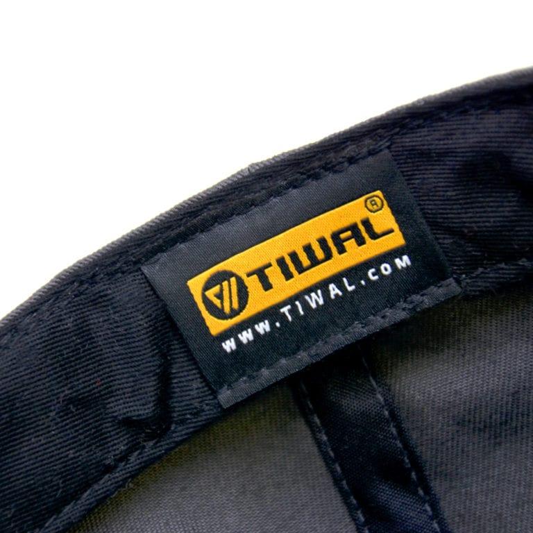 Étiquette intérieure de la casquette Tiwal