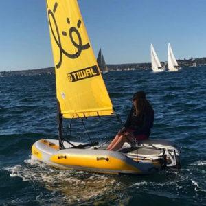 Tiwal 2 sailing in Sydney