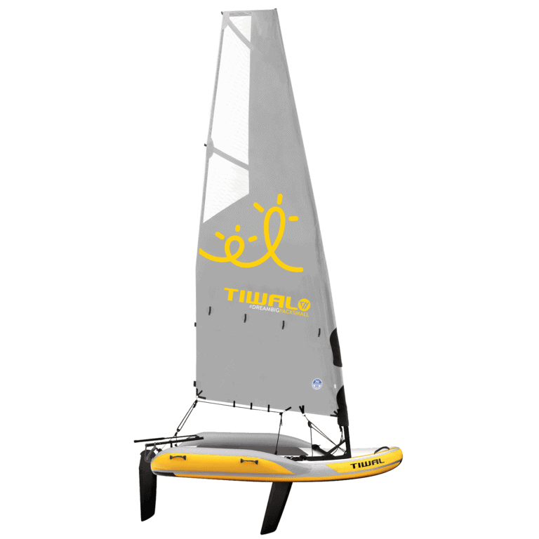 Tiwal 2 Inflatable Small Sailboat with Reefable Sail