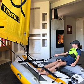 Sailing during quarantine