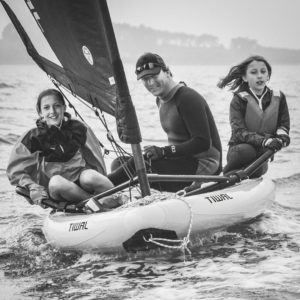 Navigation en famille sur un voilier Tiwal 3