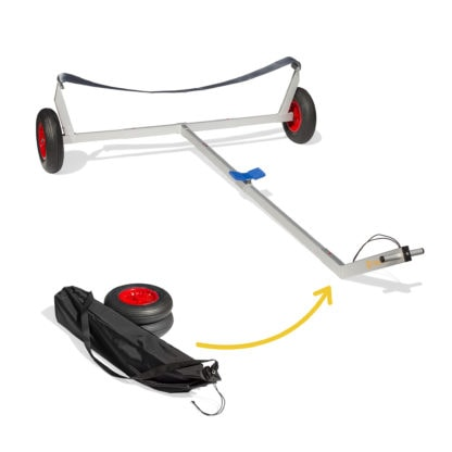 Sailboat Collapsible Beach Dolly