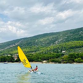 Tiwal 2 Windy Sailing Day