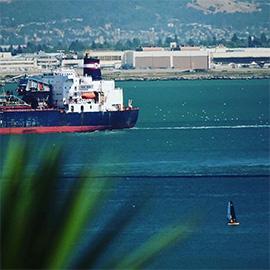 Practicing Social Distance in San Francisco Bay