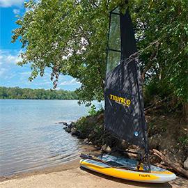 Sailing Potomac River - Algonkian Park