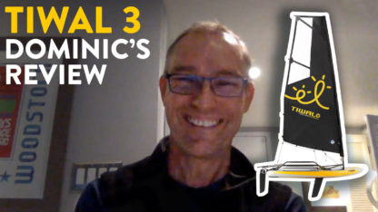 Tiwal 3 Sailboat Owner's review- Dominic from San Franciso