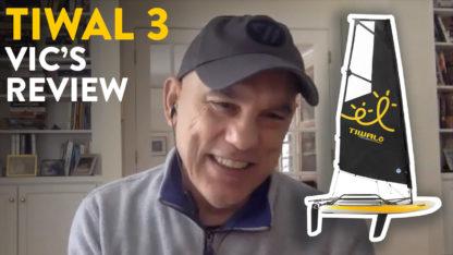 Vic's Tiwal 3 small sailboat review